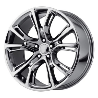 Roue OE Creations PR137, chrome noir (18X8, 5x127, 71.50, déport 34)