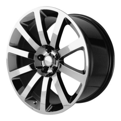 Roue OE Creations PR146, chrome noir (20X9, 5x115, 71.50, déport 26)