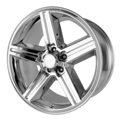 Roue OE Creations PR148, chrome (16X8, 5x120.65, 73.10, déport 0)