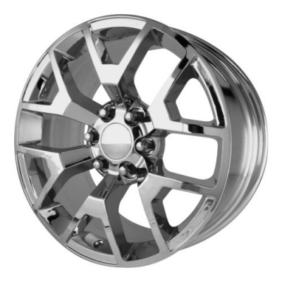 Roue OE Creations PR150, chrome (20X9, 6x139.7, 78.30, déport 27)