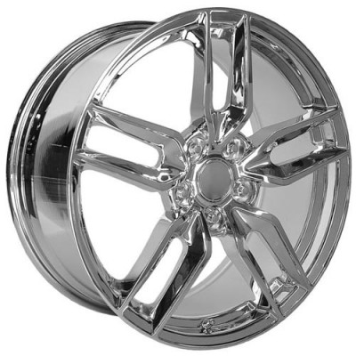 Roue OE Creations PR160, chrome (19X10, 5x120.65, 70.30, déport 78)