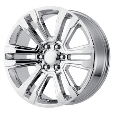 Roue OE Creations PR182, chrome (20X10, 6x139.7, 78.1, déport 24)