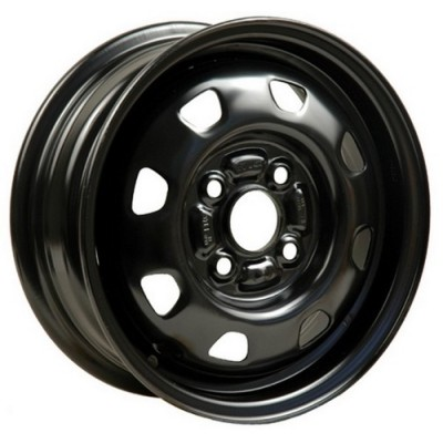 roue PMC Steel Wheel, noir (13X5, 4x100, 54.1, déport 46)