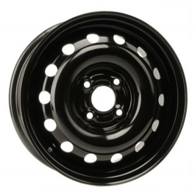 roue PMC Steel Wheel, noir (14X6, 4x100, 57.1, déport 45)