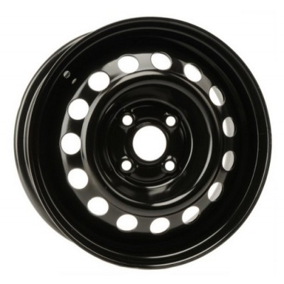 roue PMC Steel Wheel, noir (14X6, 4x100, 54.1, déport 46)