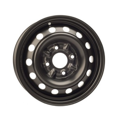 Roue PMC Steel Wheel, noir | 14X5.5, 4x114.3, 67.1, déport 45