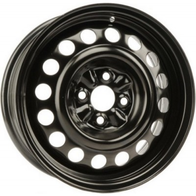 roue PMC Steel Wheel, noir (15X6, 4x100, 54.1, déport 39)