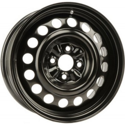 roue PMC Steel Wheel, noir (15X6, 4x100, 60.1, déport 42)