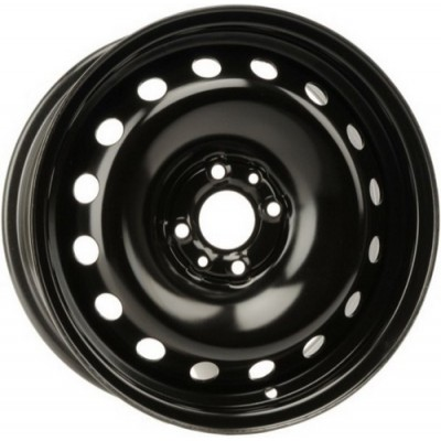 roue PMC Steel Wheel, noir (15X6, 4x98, 58.1, déport 32)