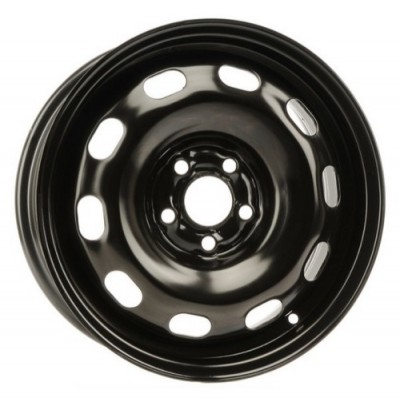 roue PMC Steel Wheel, noir (15X6, 5x100, 57.1, déport 38)