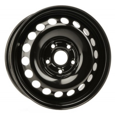 roue PMC Steel Wheel, noir (15X6, 5x112, 57.1, déport 47)