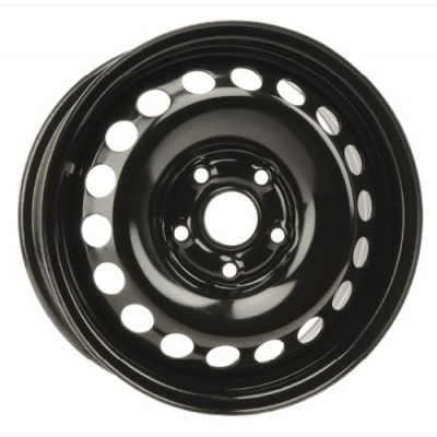 roue PMC Steel Wheel, noir (15X6, 5x112, 66.6, déport 47)
