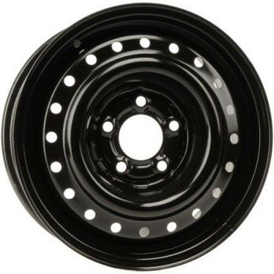 roue PMC Steel Wheel, noir (15X6, 5x114.3, 72, déport 38.5)