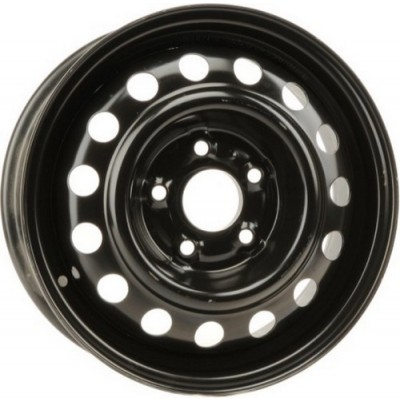 roue PMC Steel Wheel, noir (15X6, 5x114.3, 67.1, déport 46)