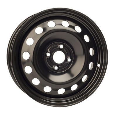 roue PMC Steel Wheel, noir (16X7, 4x100, 56.7, déport 42)