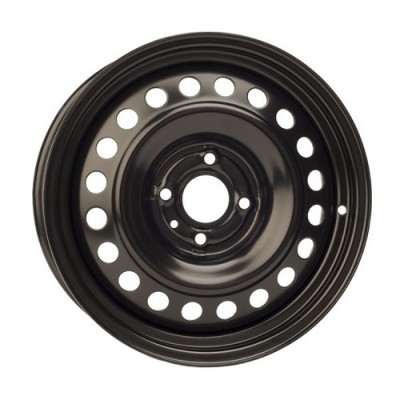 roue PMC Steel Wheel, noir (16X7, 4x108, 63.5, déport 45)