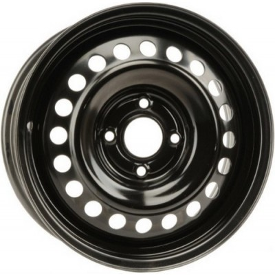 roue PMC Steel Wheel, noir (16X7, 4x114.3, 66.1, déport 45)