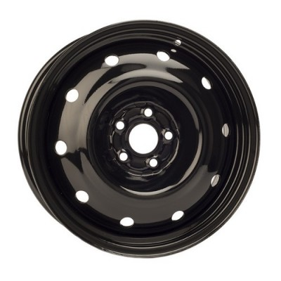 roue PMC Steel Wheel, noir (16X7, 5x100, 56.1, déport 48)