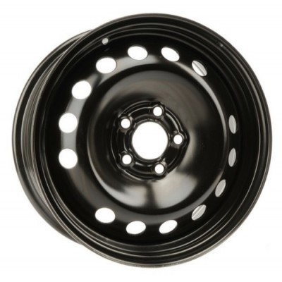 roue PMC Steel Wheel, noir (16X7, 5x108, 65.3, déport 43)