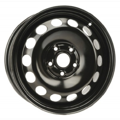 Roue PMC Steel Wheel, noir | 16X6,5, 5x112, 66.6, déport 50