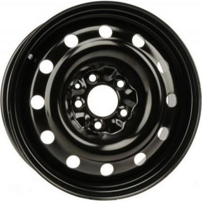 Roue PMC Steel Wheel, noir | 16X6.5, 5x114.3, 64.1, déport 42