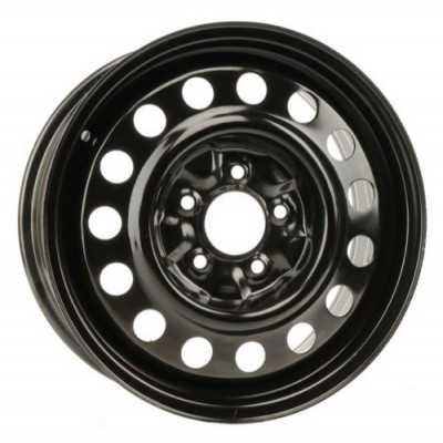 roue PMC Steel Wheel, noir (16X7, 5x115, 70.3, déport 52)