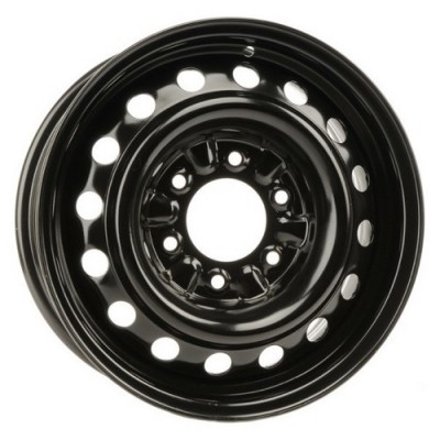 roue PMC Steel Wheel, noir (16X7, 6x139.7, 108, déport 46)