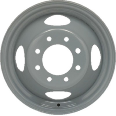 roue PMC Steel Wheel, gris (16X6, 8x165.1, 124, déport 135)