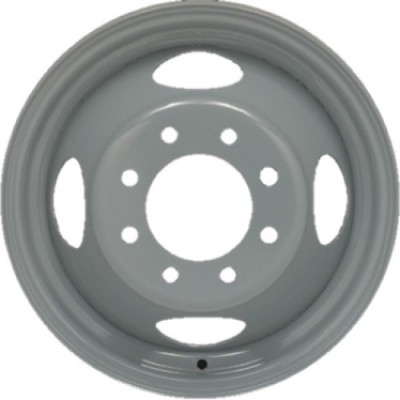 roue PMC Steel Wheel, gris (16X6, 8x165.1, 121.3, déport 136)