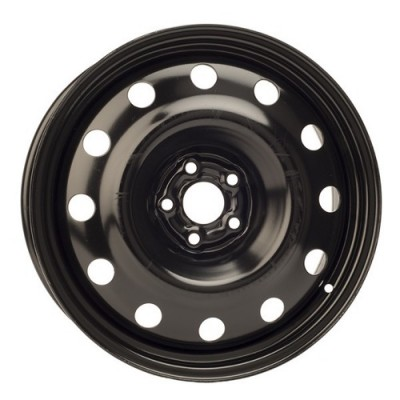 roue PMC Steel Wheel, noir (17X7, 5x100, 56.1, déport 48)