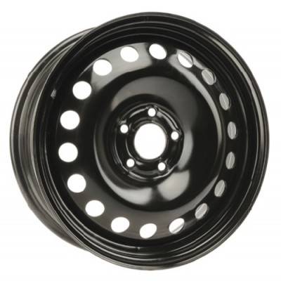 roue PMC Steel Wheel, noir (17X7, 5x105, 56.6, déport 42)