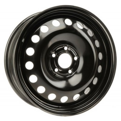 roue PMC Steel Wheel, noir (17X7, 5x110, 65.1, déport 42)