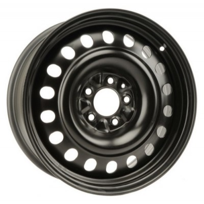 roue PMC Steel Wheel, noir (17X7, 5x114.3, 67.1, déport 42)