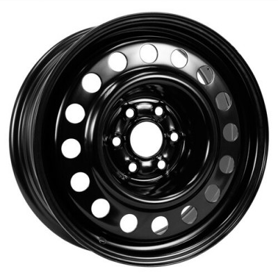 roue PMC Steel Wheel, noir (17X7, 6x120, 66.9, déport 30)