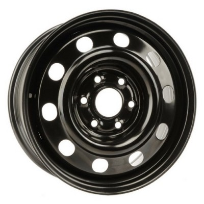 roue PMC Steel Wheel, noir (17X7, 6x132, 74.5, déport 50)