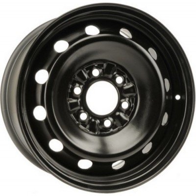 roue PMC Steel Wheel, noir (17X8, 6x135, 87.1, déport 35)