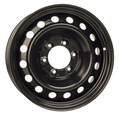 roue PMC Steel Wheel, noir (17X7, 6x139.7, 106.1, déport 14)