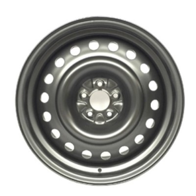 roue PMC Steel Wheel, noir (18X8, 5x108, 65.1, déport 40)
