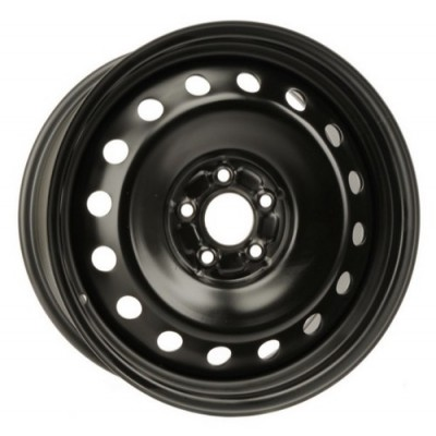 roue PMC Steel Wheel, noir (18X8, 5x114.3, 67.1, déport 42)