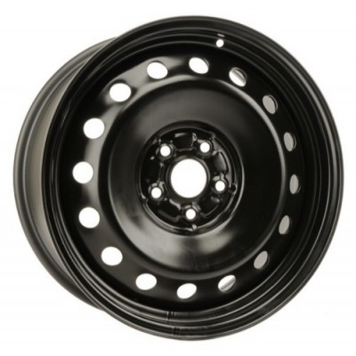 roue PMC Steel Wheel, noir (18X8, 5x114.3, 60.1, déport 36)