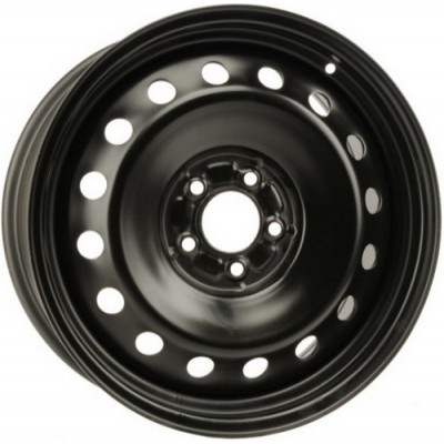 roue PMC Steel Wheel, noir (18X8, 5x115, 71.5, déport 24)