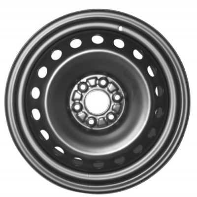 roue PMC Steel Wheel, noir (18X8, 6x120, 67.1, déport 36)