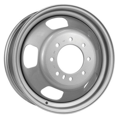 Roue PMC Steel Wheel, gris (17X6, 8x165.1, 121, déport 136)