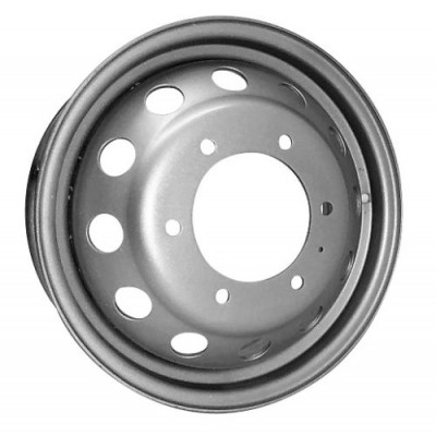 Roue PMC Steel Wheel, gris (16X6, 6x180, 139.7, déport 109.5)