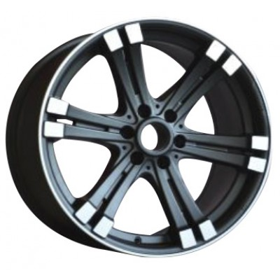 Roue PMC OEM Replica, noir machine (18X8.5, 5x139.7, 78.1, déport 20)