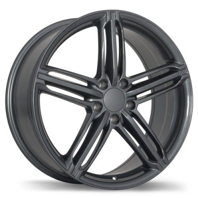 Roue Replika Wheels R133A, gris gunmetal (16X7, 5x112, 66.5, déport 35)