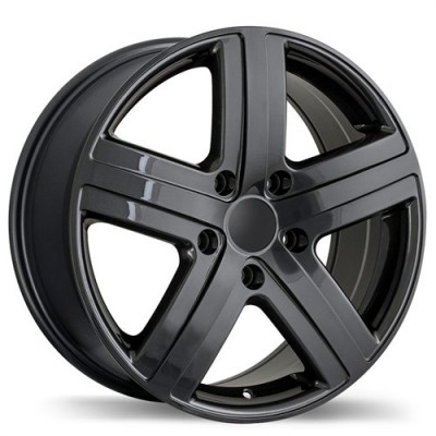 Roue Replika Wheels R153, gris gunmetal (17X7.5, 5x130, 71.6, déport 50)