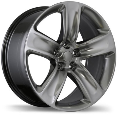 roue Replika Wheels R176, noir satine (20X9, 5x127, 71.5, déport 34)