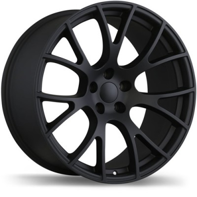 Replika Wheels R179A Matte Black/Noir mat, 20X9.5, 5x115, (offset/déport 18 ) 71.5 Dodge