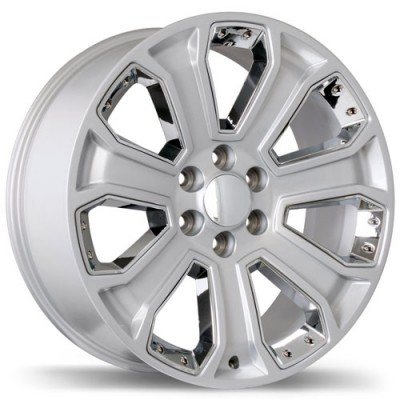 roue Replika Wheels R180, chrome (22X9, 6x139.7, 78.1, déport 24)